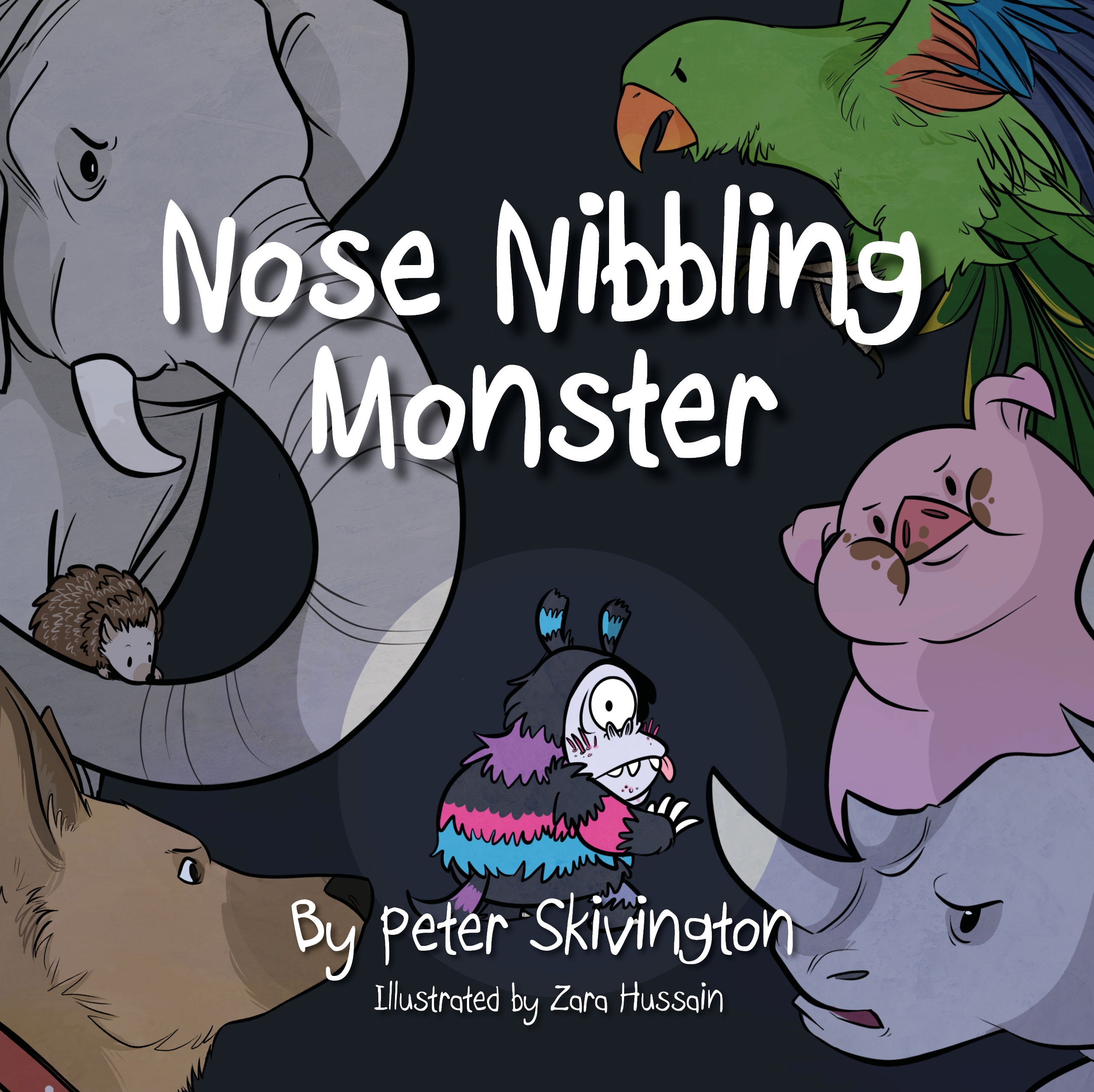 nose-nibbling-monster